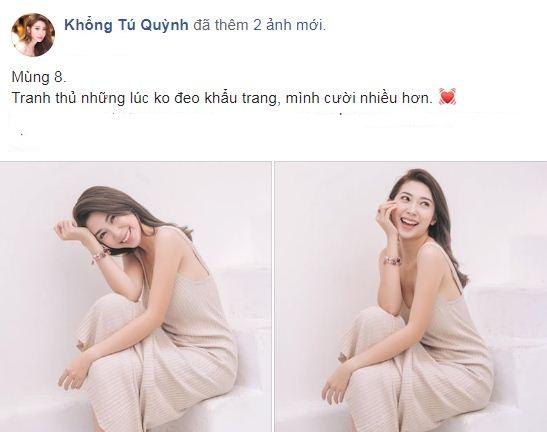 Khổng Tú Quỳnh táo bạo làm điều mà sao Việt đang lo sợ giữa dịch virus 4
