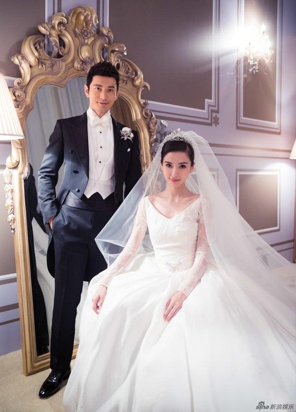 Thái độ lạ của Huỳnh Hiểu Minh và Angela Baby trong dịp kỉ niệm ngày cưới 1