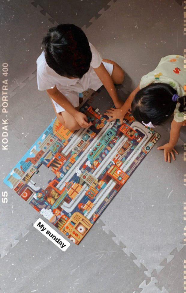 Sinh ra trong hào môn, nhóc tỳ nhà Hà Tăng có sở thích rất giản dị ở nhà 1