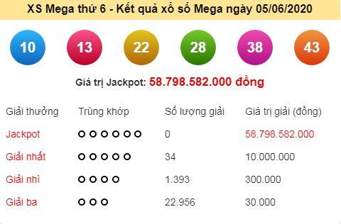 Xổ số Vietlott: Chủ nhân giải Jackpot 62 tỷ đồng là ai? 1
