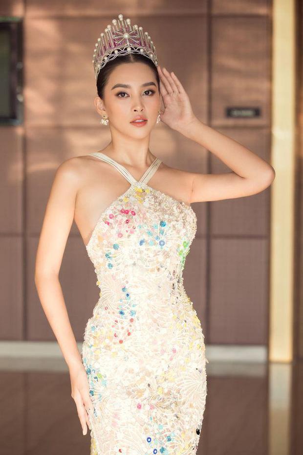 Hoa hậu Tiểu Vy 'muối mặt' khi bị lộ khuyết điểm trên cơ thể qua ảnh chụp lén 4