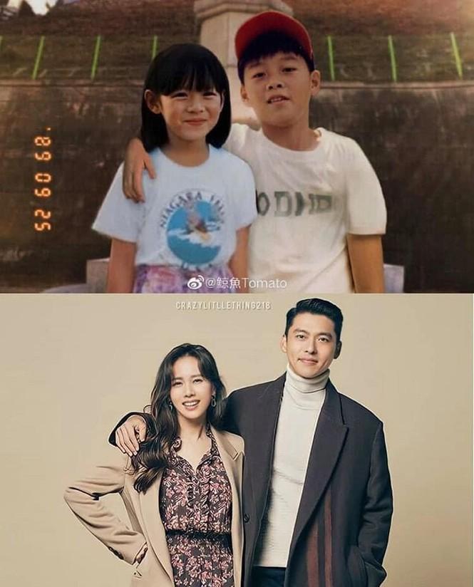 عکسهای کودکان نامزد و پسر جی هیون بن فاش می شود: سرنوشت از کودکی می آید 1