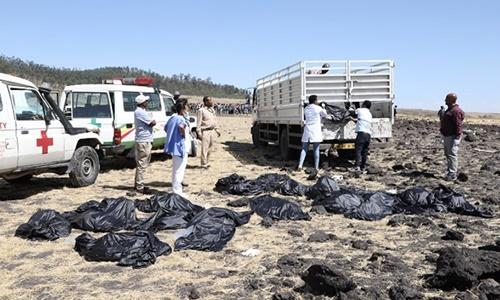 Ít nhất 19 nhân viên LHQ thiệt mạng trong tai nạn máy bay Ethiopia 1