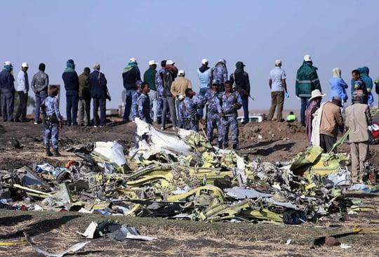 Máy bay Ethiopia quay đầu, bốc khói trước khi xảy ra tai nạn 1
