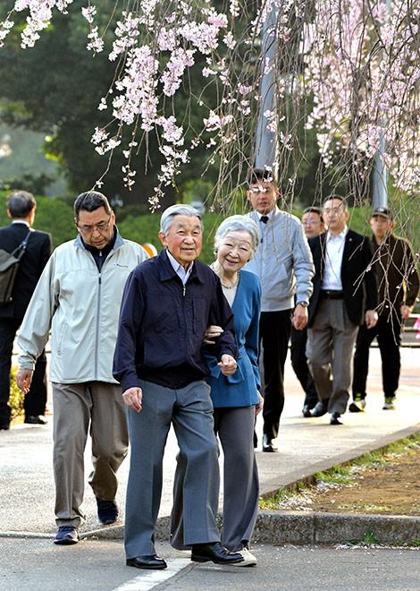 Lộ ảnh Vua và Hoàng hậu Nhật Bản 'tình bể bình' gây bão MXH 1