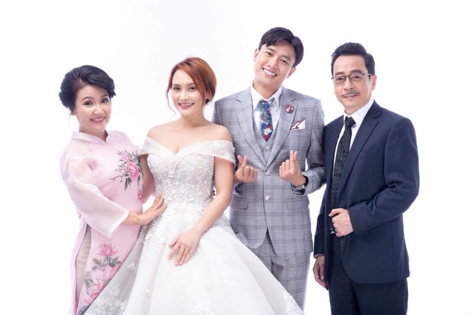 Lộ ảnh cưới của Bảo Thanh và Quốc Trường gây 'bão' 1