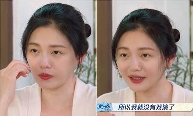 Từ Hy Viên phản ứng 'cực gắt' khi bị mời đóng phim già nua 1