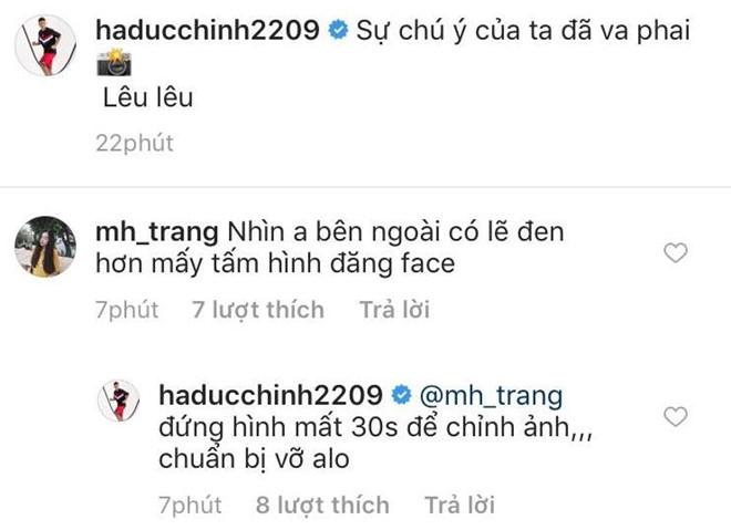 Hà Đức Chinh bị bạn gái 'bóc mẽ' khi đăng ảnh 'sống ảo' 1