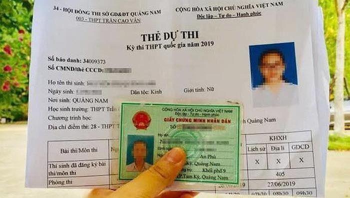 Hy hữu: Trộm 'có tâm' để lại thẻ dự thi THPT Quốc gia cho nữ sinh 1