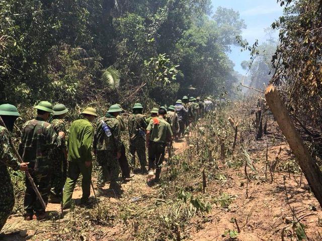 Tiếp tục cháy rừng dữ dội ở Hà Tĩnh 1