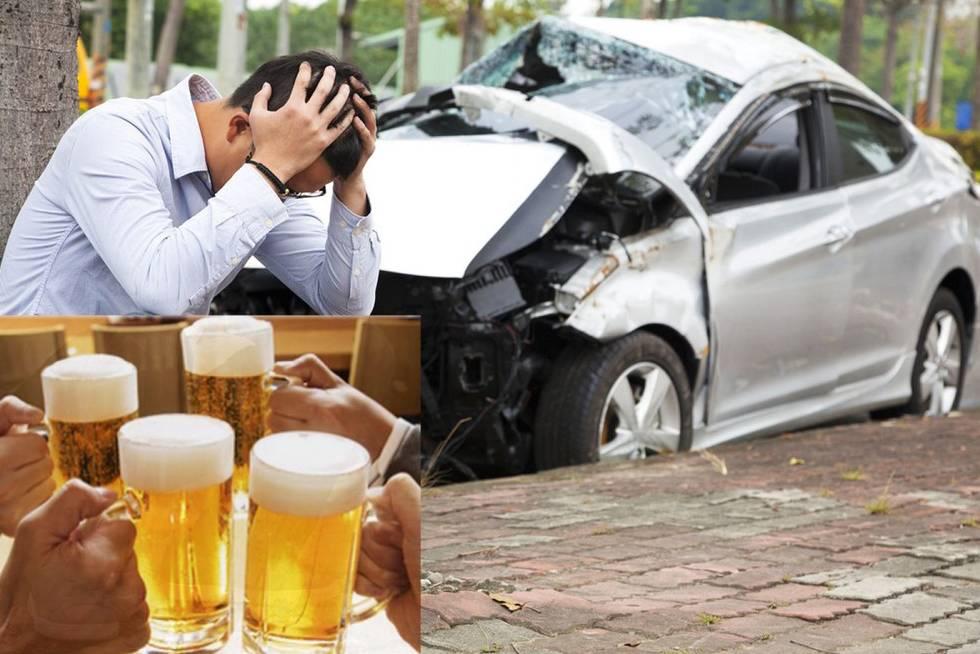 Chính thức cấm việc uống rượu bia trước và trong khi lái xe từ 1/1/2020 2