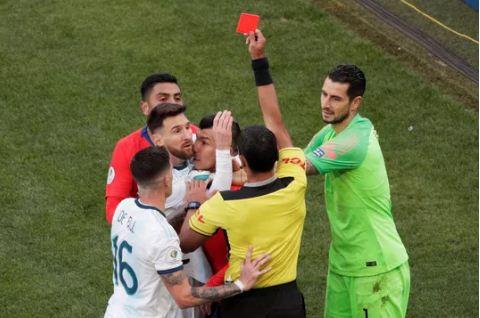 Messi lãnh thẻ đỏ, Argentina giành hạng 3 Copa America 1