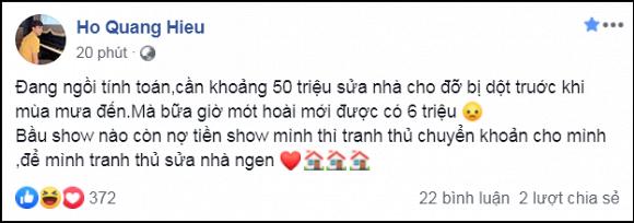 Hồ Quang Hiếu đăng đàn đòi nợ giữa tin đồn sắp cưới Bảo Anh 1