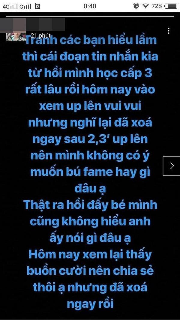 Lộ tin nhắn Cao Thái Sơn đòi nam sinh gửi ảnh 'nóng' gây 'bão' MXH 3