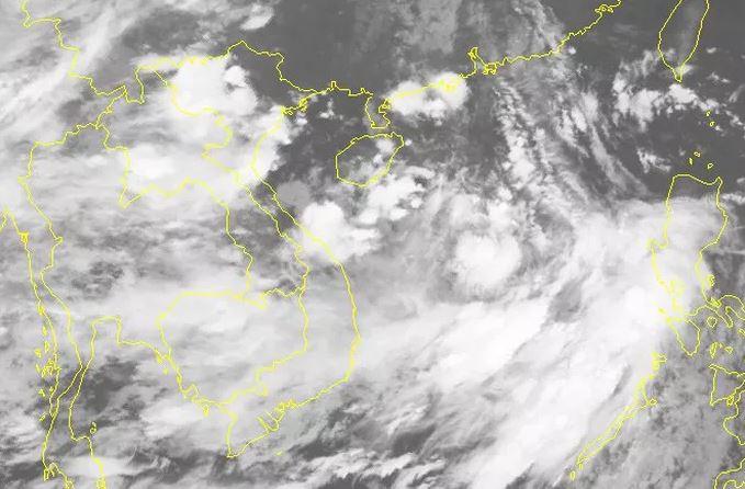 Áp thấp nhiệt đới mạnh lên thành bão ở biển Đông 1