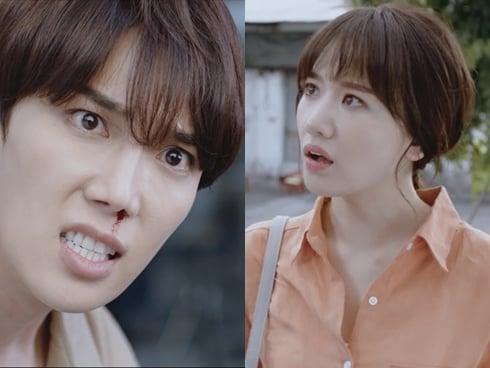 Hari Won có hành động gây bất ngờ với bạn diễn nam trong phim mới 3