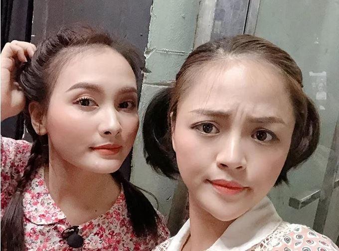Thu Quỳnh, Bảo Thanh tình tứ trong ảnh chung đập tan tin đồn 'cạch mặt' 1