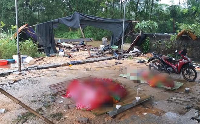 Sập tường sau mưa lớn ở Thái Nguyên, 3 người tử vong 1