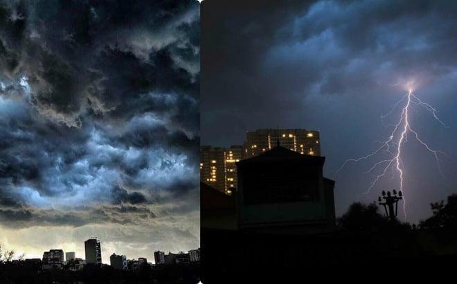 Dự báo thời tiết mới nhất hôm nay 10/9: Hà Nội mưa dông lớn 1