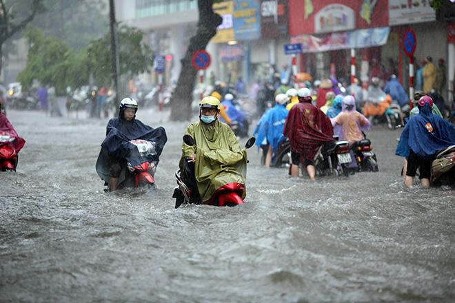 Dự báo thời tiết mới nhất hôm nay 16/9: Hà Nội mưa lớn 1