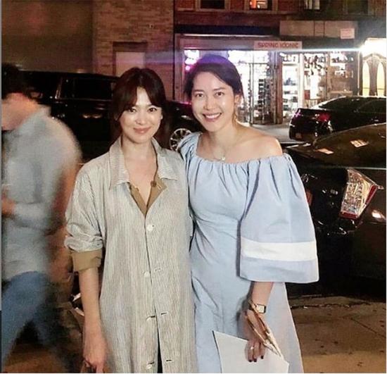 Song Joong Ki bất ngờ 'comeback' khi Song Hye Kyo đón trung thu ở Mỹ 1