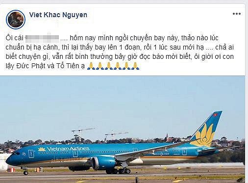 Tuấn Hưng và Khắc Việt chia sẻ trải nghiệm đáng sợ khi máy bay hạ cánh 1