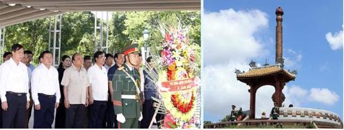 Thủ tướng Nguyễn Xuân Phúc dâng hương tưởng nhớ các Anh hùng Liệt sỹ tại Quảng Trị 2