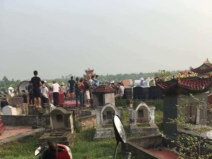Nóng: Điều tra nghi án một phụ nữ bị sát hại tại nghĩa trang ở Hưng Yên 1