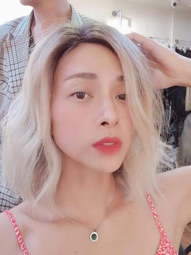 Ngô Thanh Vân gây bất ngờ với mái tóc bạc trắng 1