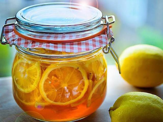 Cách ngâm chanh đào mật ong chữa ho hiệu quả trong mùa lạnh 3