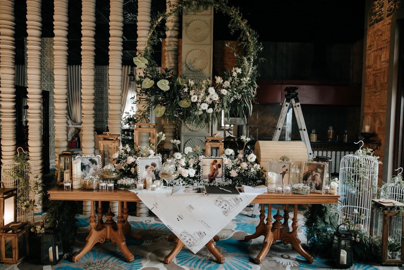 Hé lộ hình ảnh nhẫn kim cương và tiệc cưới xa hoa trong hôn lễ MC Hoàng Oanh 1