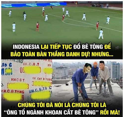 Loạt ảnh chế cực 'chất' sau trận thắng của U22 Việt Nam trước Indonesia 2