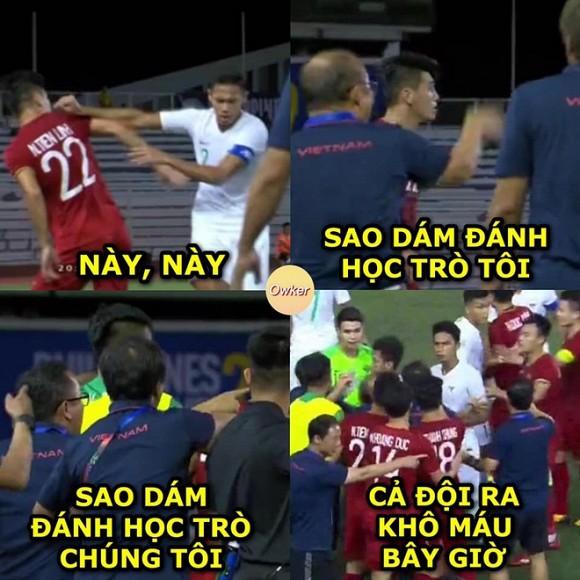 Loạt ảnh chế cực 'chất' sau trận thắng của U22 Việt Nam trước Indonesia 3