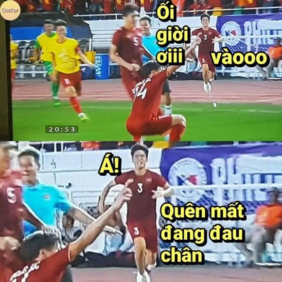 Loạt ảnh chế cực 'chất' sau trận thắng của U22 Việt Nam trước Indonesia 9