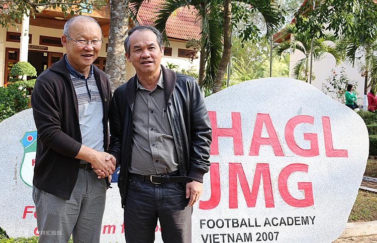 Bầu Đức gửi lời biết ơn đến Park Hang-seo vì đã 'làm nên bóng đá Việt Nam' 3