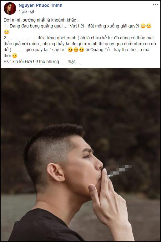 Ngô Kiến Huy gây chú ý khi bình luận trong bài 'dằn mặt' của Noo Phước Thịnh 1