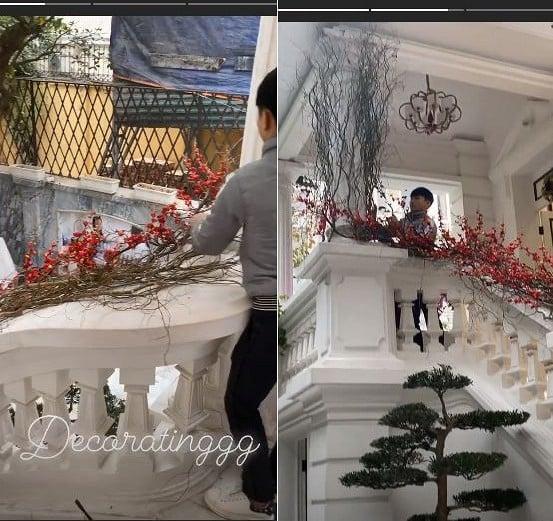 Choáng ngợp với không gian bên trong biệt thự của nhà chồng Á hậu Thanh Tú 2