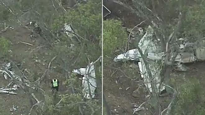 2 máy bay đối đầu trên không, 4 người thiệt mạng 1