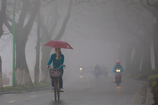 Tin thời tiết mới nhất hôm nay 21/2: Hà Nội mưa phùn ẩm thấp 1