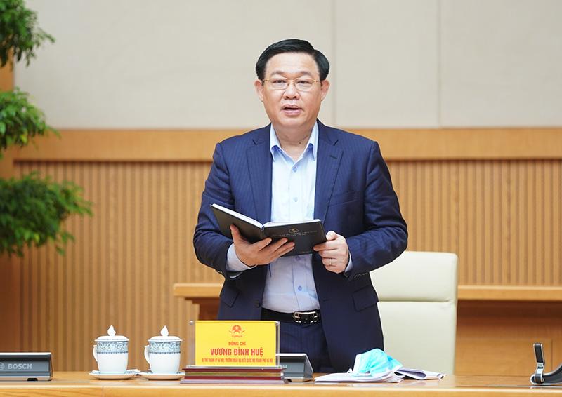 Bí thư Thành ủy Vương Đình Huệ: Hà Nội cơ bản kiểm soát được dịch bệnh 1