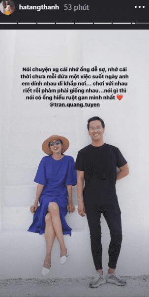 Tăng Thanh Hà bất ngờ 'nhớ nhung' nam nhân quyền lực này mà không phải ông xã 1