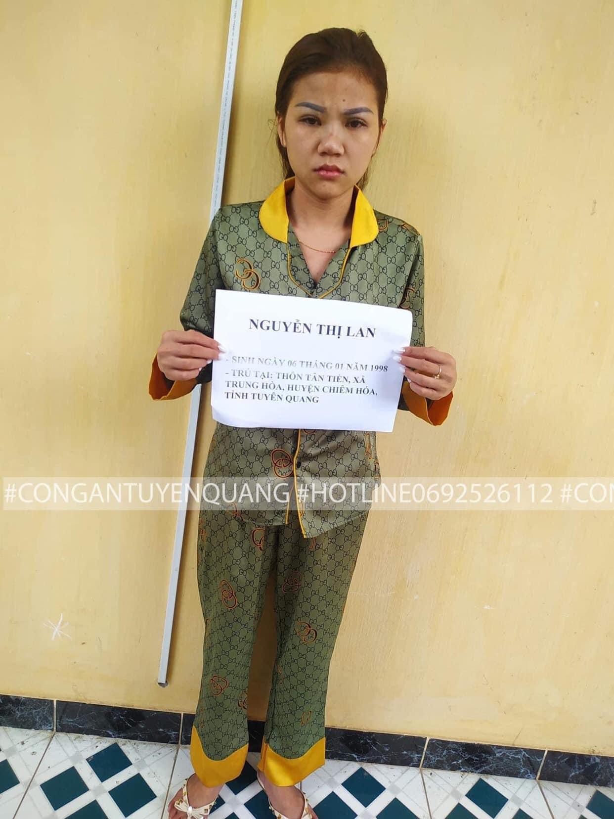 Dung nhan gây ngỡ ngàng của 'tú bà' 9X điều hành đường dây đi khách liên tỉnh  1