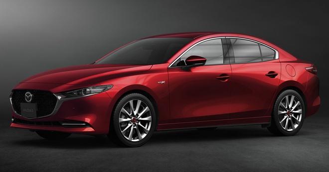 'Quái kiệt' Mazda 3 tái ngộ với diện mạo mới, Honda Civic run rẩy lo bị 'cướp ngôi' 1