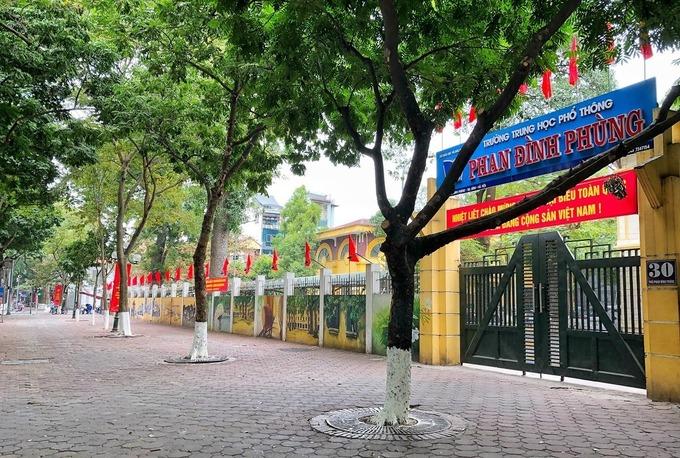 Covid-19 اتاق ترجمه ، هزاران دانش آموز در هانوی مدرسه را ترک کردند 1