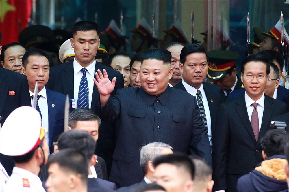 Tổng Bí thư, Chủ tịch nước Nguyễn Phú Trọng hội đàm cùng Chủ tịch Kim Jong Un 6