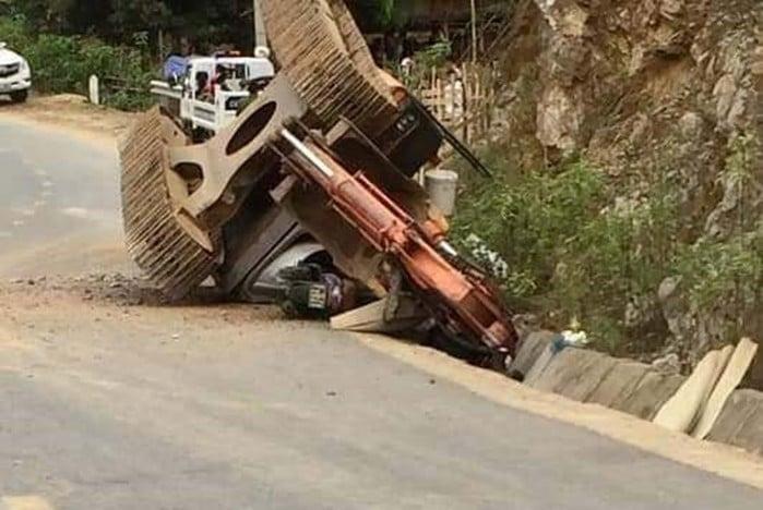 Tai nạn giao thông mới nhất ngày 8/3: Bé gái 3 tuổi chạy ra đường bị xe tải tông tử vong 1
