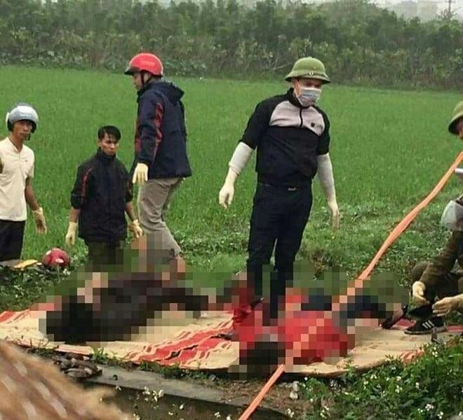 Lao xe xuống mương nước thuỷ lợi, 2 vợ chồng ở Thái Bình thiệt mạng 1