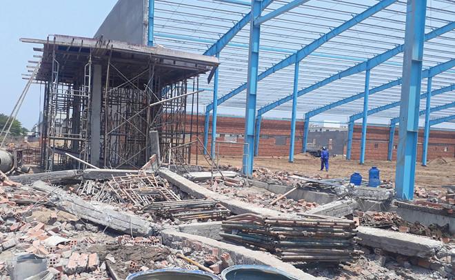 Khởi tố vụ án sập nhà xưởng ở Vĩnh Long khiến 6 người thiệt mạng 1