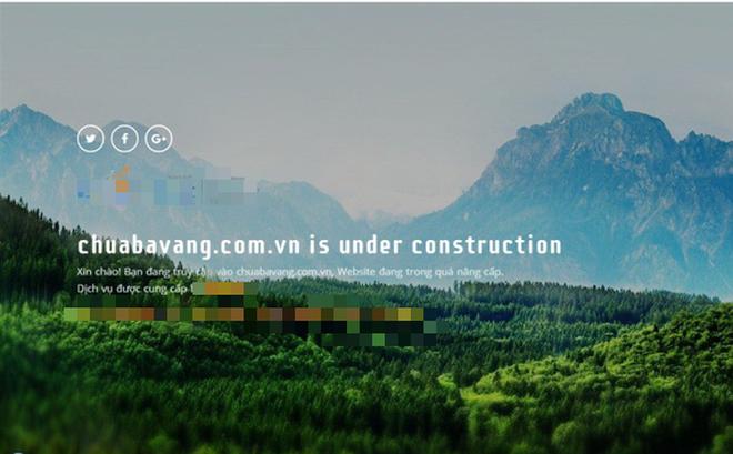 Số tài khoản chùa Ba Vàng 'biến mất', website bị đình chỉ hoạt động 2
