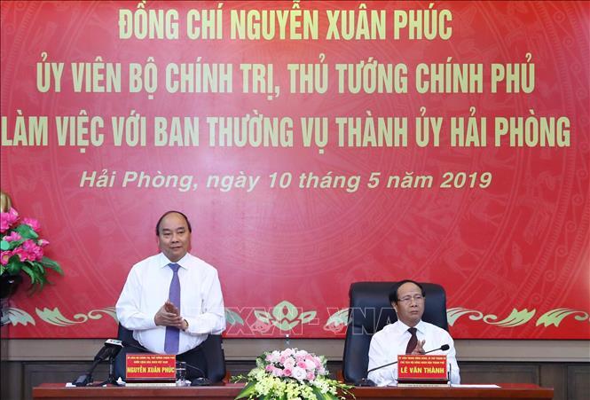 Thủ tướng Nguyễn Xuân Phúc gợi mở hướng phát triển bền vững cho Hải Phòng 1